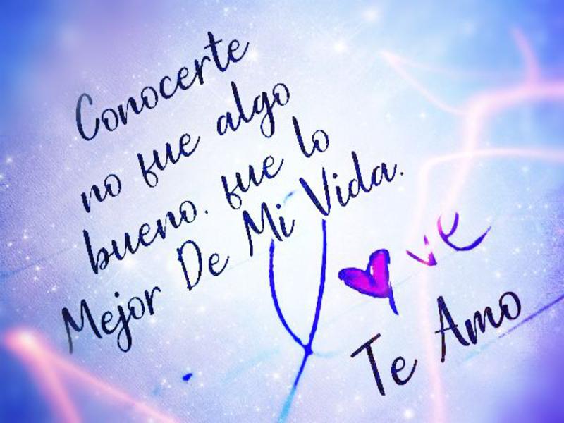 Frases De Te Amo Mi Gran Amor